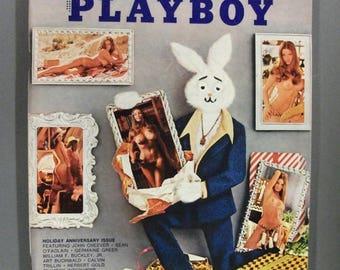 Playboy Magazine:  January , 1973 With Vargas