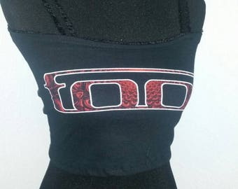 TOOL band shirt ladies crop top available in x-small, small or medium
