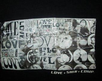 Vintage Shin & Co 3D Japan Love Design T-shirt Original