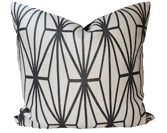 SALE, Decorative Designer Lee Jofa, Katana Groundworks, Pillow Cover, 20x20, 22x22 or Lumbar, Throw Pillow