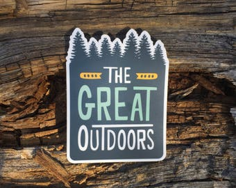 The Great Outdoors | Vinyl Sticker Design