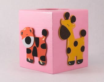 Safari Animal Tissue Box Holder
