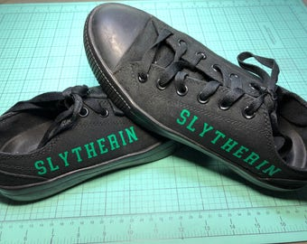 Vinyl Design Slytherin Harry Potter Shoes