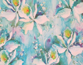 Vintage All-Occasion Gift Wrap - Wrapping Paper - 1960s Floral - Birthday - Shower - Wedding