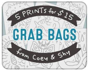 Clearance Prints Grab Bag