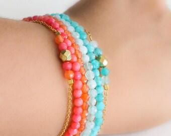 Beaded Bracelet - Choose your color