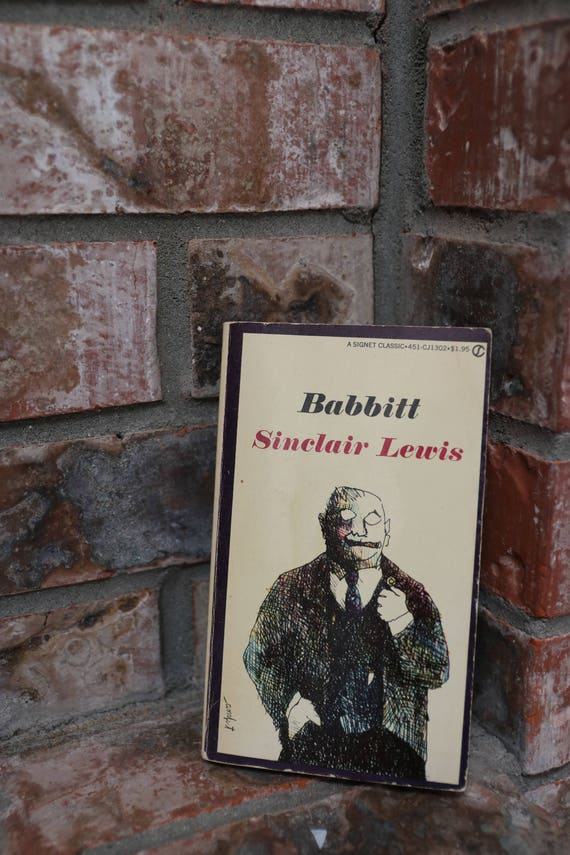 BABBITT by Sinclair Lewis, Paperback in Very Good Condition, 1961