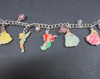 Walt Disney characters charm bracelet