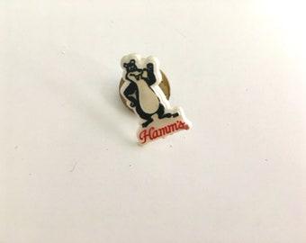 hamm's beer bear pin