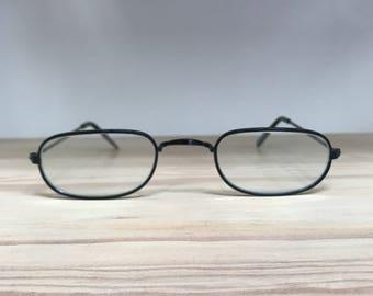 Rectangle vintage sunglasses eyeglasses