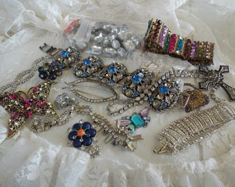 Junk Jewelry DESTASH LOT/Craft supply