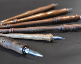 Hand Turned Pen made from Walnut wood