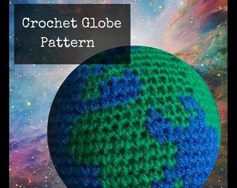 Crochet Globe Pattern - PDF Crochet Pattern