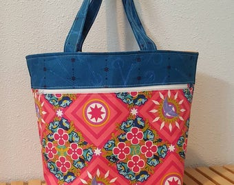 Caravan Tote | high quality Alison Glass fabric