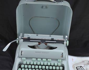 EXC 1963 HERMES 3000 Refurbished Portable Typewriter W/ Warranty * * TECHNO Elite