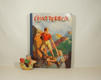 CHATTERBOX - Dean & Son, Ltd.  - Printed in Great Britain - Circa 1940s
