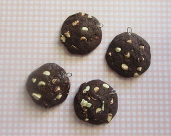 4 x Chocolate chip cookies charms