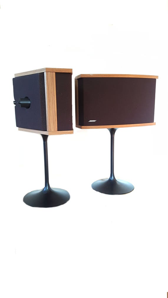 bose 901 vintage. pair vintage bose 901 speakers with tulip stand ~ audio mid century modern eero saarinen style base bose z