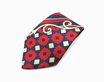 Vintage 70's silk tie | NOS
