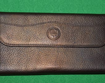 Wallet Genuine Leather by DELANE Made in Canada