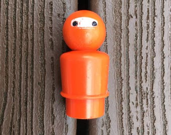 Vintage Fisher-Price Little People Deep Sea Diver for Offshore Cargo Base