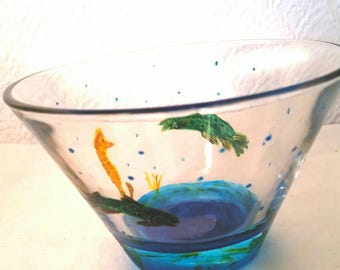 how to add oxygen to fish bowl