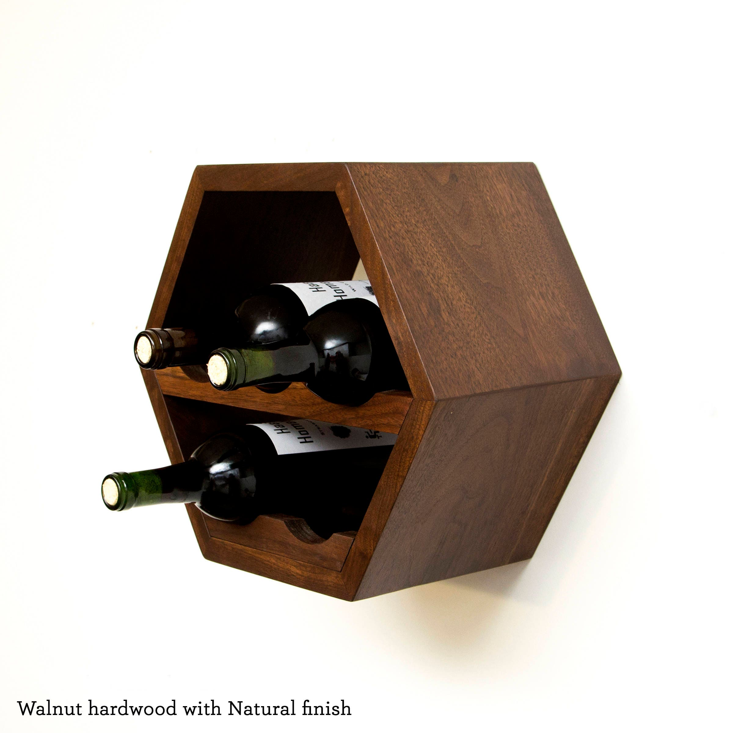 Hexagon Wine Rack Wine Storage Modern Wine Rack Geometric