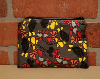 One Snack Sack, Reusable Lunch Bags, Waste-Free Lunch, Machine Washable, Flowers, Back to School, School Lunch, item #SS76