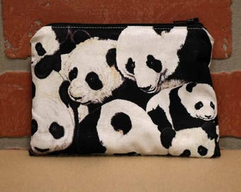 One Snack Sack, Panda, Reusable Lunch Bags, Waste-Free Lunch, Machine Washable, Back to School, School Lunch, item #SS56