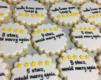 5 stars, would marry again cookies