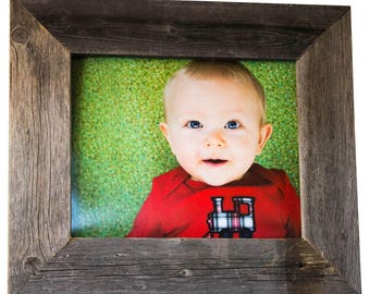 8x10 Barnwood Picture Frame - Natural