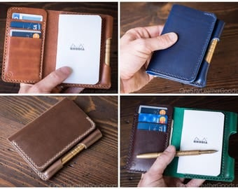 "BUILD-YOUR-OWN - ""Park Sloper Medium"" Notebook/Wallet/Pen"