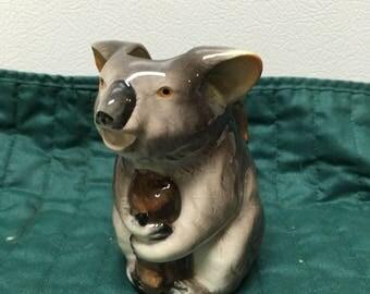 Vintage koala bear creamer