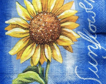 """Sunflower"" towel"