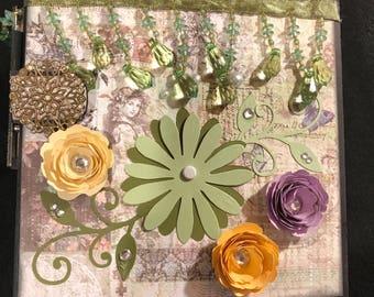 6x6 Natures Garden Mini Album by Prima
