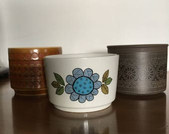 Pick a sugar bowl. Hornsea. Meakin. Lancaster Vitramic