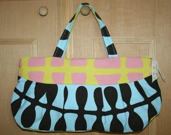 handmade printed cotton bag
