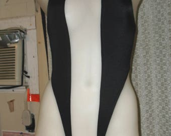 sheer center bodysuit ,But with crotch lined only one left.
