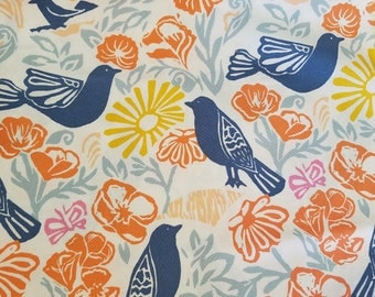 Moda, Early Bird fabric, By the yard