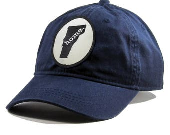 Homeland Tees Vermont Home Hat - Navy Cotton Twill
