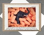 Inspirational Elephant Greeting Card