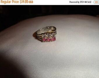 50% OFF Vintage metal ring adjustable band Seattle WA estate