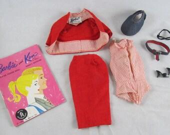 Barbie Busy Gal  #981 Glasses Belt Hat Vintage Barbie 1960-1961