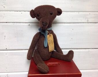 Vintage Old Brown Bear