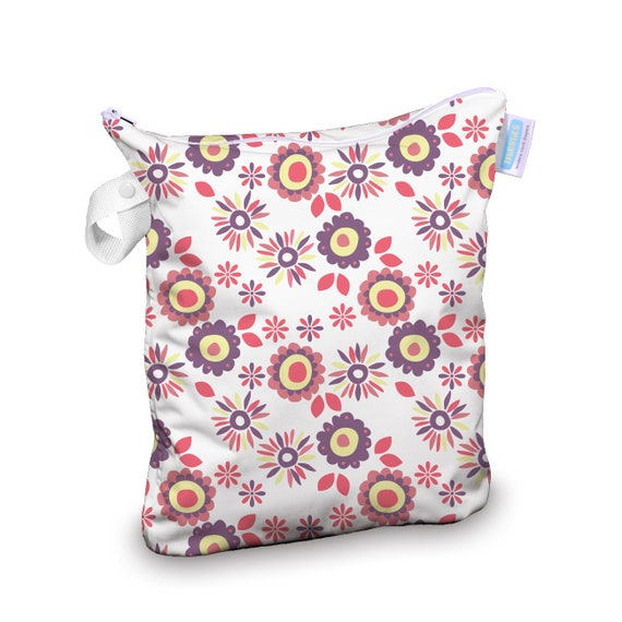Thirsties Wet Bag in Floral Print