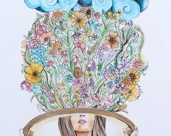 Hula Hoop Art-Thought Garden