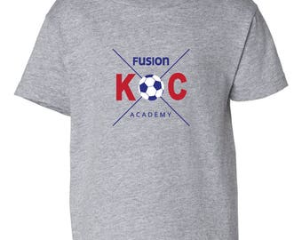 KC Fusion Academy and Club Toddler Tee