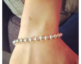 Pretty Bracelet beads silver