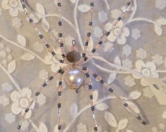 Pink Vintage Spider