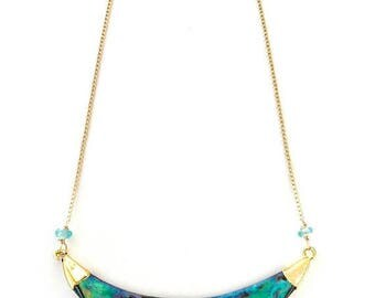 SUMMER SALE Abalone Necklace